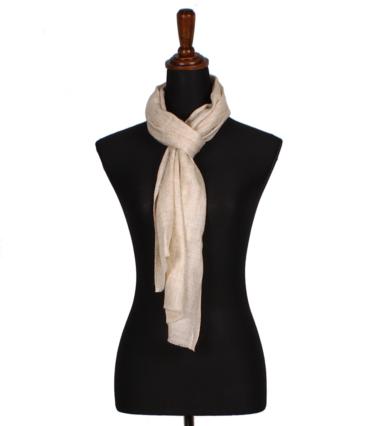 Authentic Beige Cashmere Scarves Online Buy Nepalese Pashmina Muffler